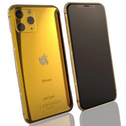 Luxury 24K Gold Swarovski Brilliance iPhone 11 Pro and Pro Max