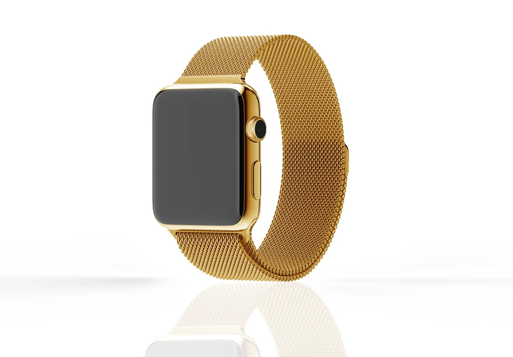 Luxury Apple Watch Series 6 with Milanese Strap