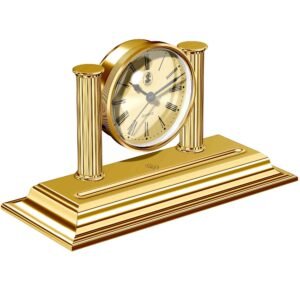 gold clock desk corporate gifts