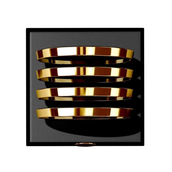 gold drink coasters set