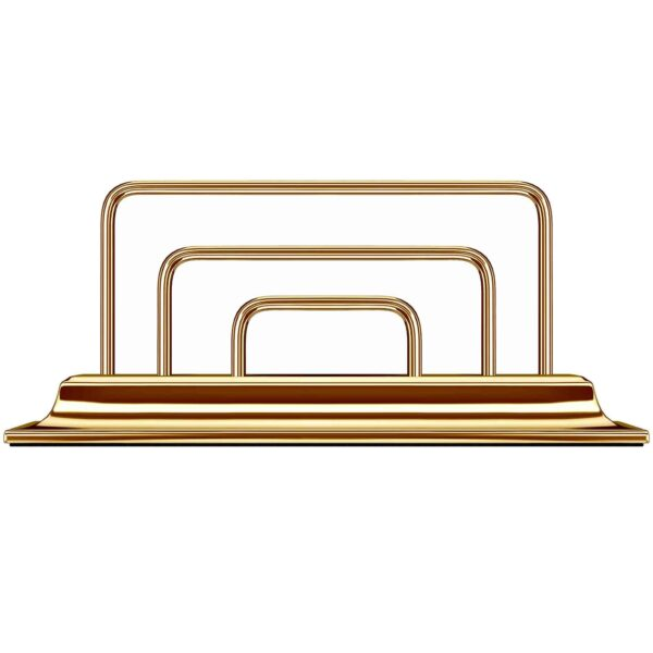 gold letterrack corporate gifts