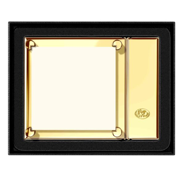 gold sticky note holder corporate gifts