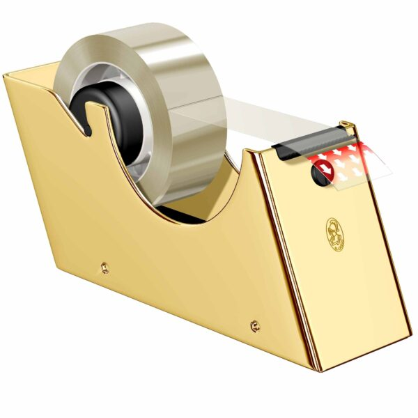 gold tape dispenser corporate gifts