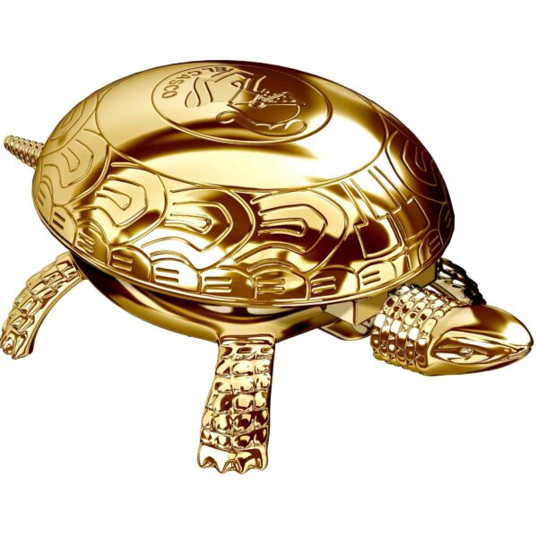 gold turtle paperweight and bell corporate gifts