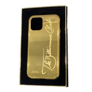 Luxury Gold iPhone 11 Pro and Pro Max Casing Billionaire Club Limited