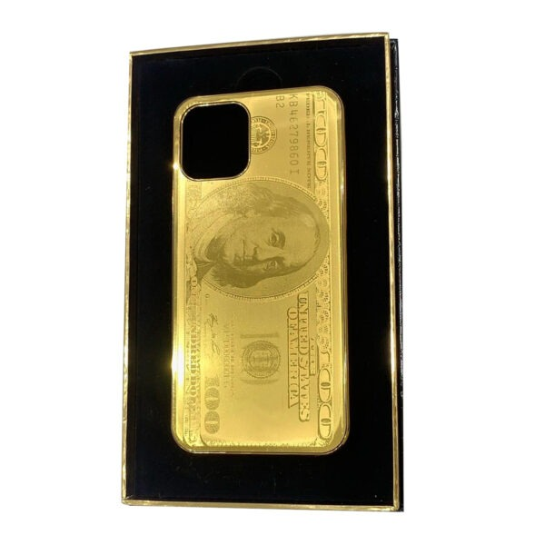 Luxury Gold iPhone 11 Pro and Pro Max Casing Dollar Limited