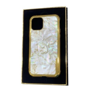 Luxury Gold iPhone 11 Pro and Pro Max Casing with Mother of Pearl