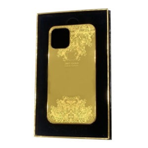 Luxury Gold iPhone 11 Pro and Pro Max Casing Ornament Limited