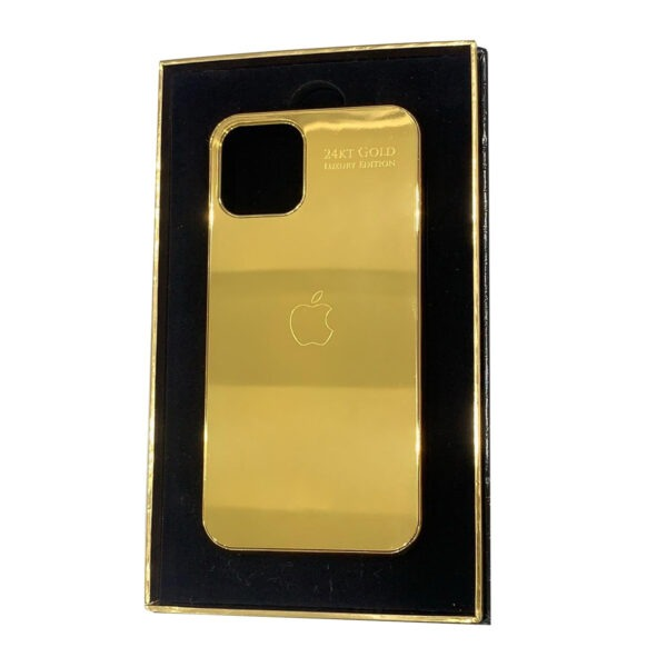 Luxury Gold Plain iPhone 11 Pro and Pro Max Casing