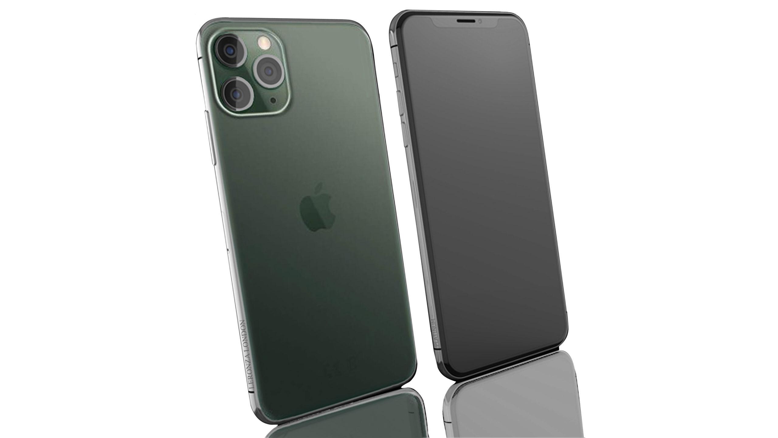 Platinum Midnight Green Iphone 11 Pro And 11 Pro Max Leronza
