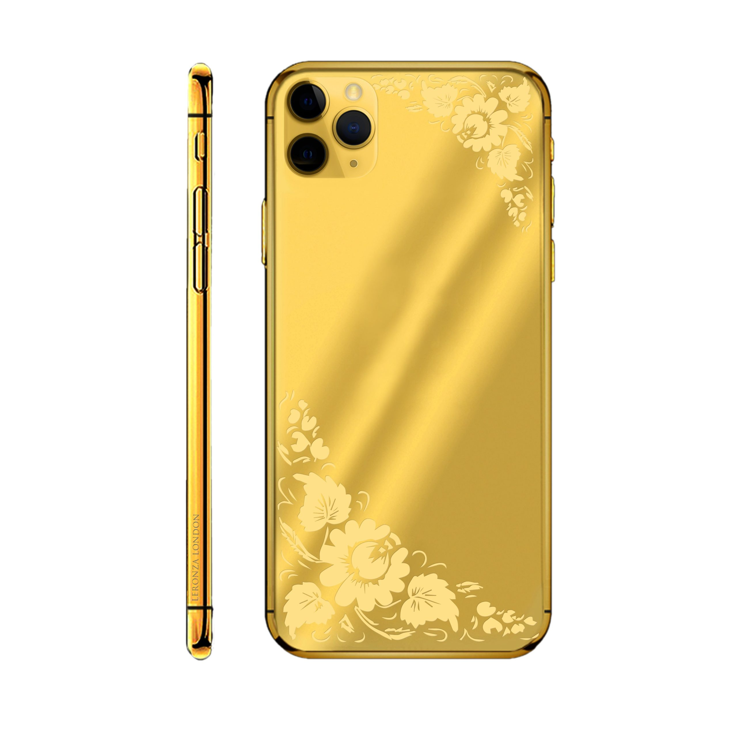 24k Gold Flower Limited Edition iPhone 11 Pro and 11 Pro ...