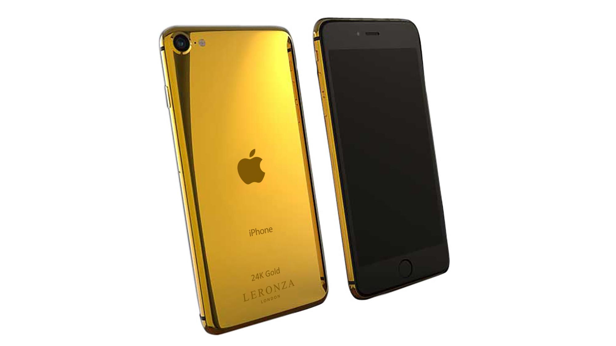 Luxury 24k Gold iPhone SE Elite - Leronza