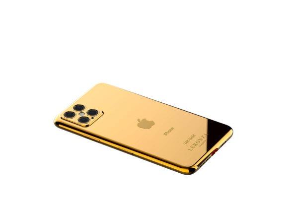 New Luxury 24k Gold Iphone 12 Pro And 12 Pro Max Leronza