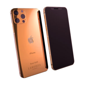 Leronza Rose Gold iPhone 12 Pro Diamonds