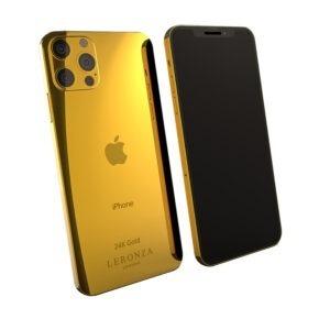 iPhone 12 Pro 24k Gold