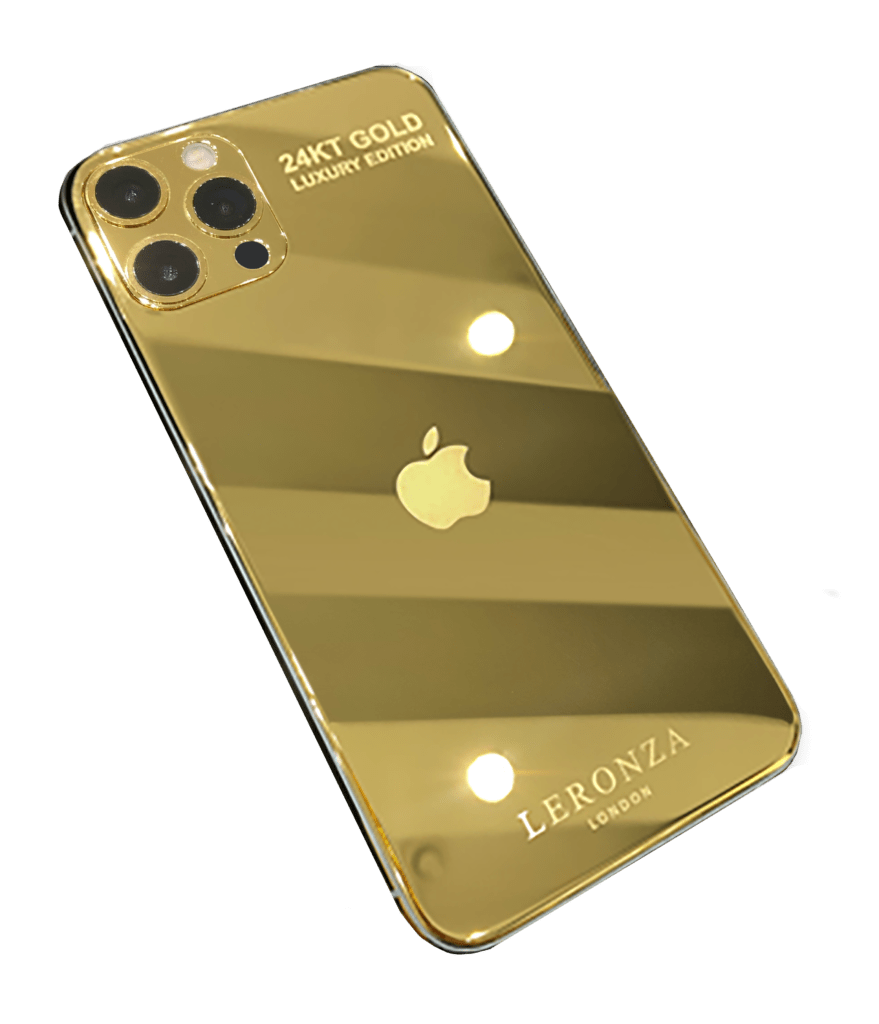 Real gold iPhone 12 Pro