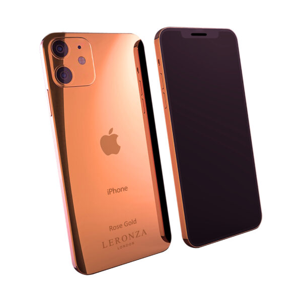 Rose Gold iPhone 12