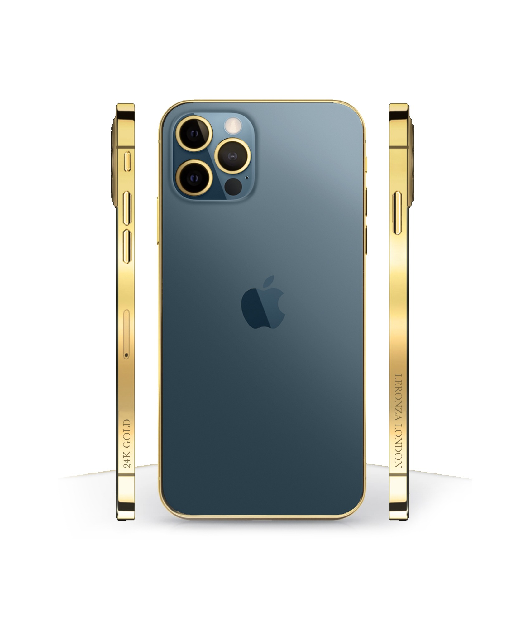 New Luxury 24k Gold Classic iPhone 12 Pro and Pro Max ...