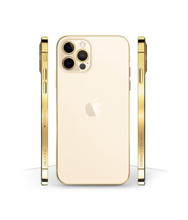 24k Gold iPhone 12 Pro Gold