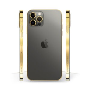 24k Gold iPhone 12 Pro Graphite