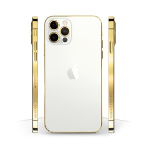 24k Gold iPhone 12 Pro SILVER