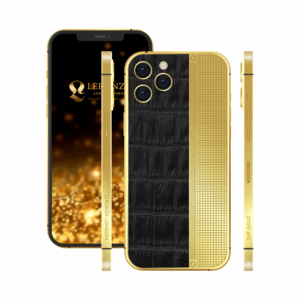 Customized 24K Gold iPhone 13 Pro and 13 Pro Max | Luxury iPhone | Latest iPhone | iPhone 13 Pro and pro max with crocodile leather design