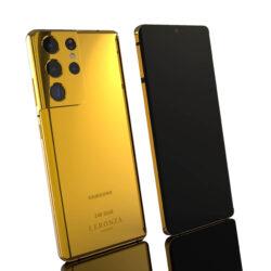 Leronza 24k gold Samsung S21 Ultra