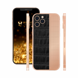Customized Rose Gold iPhone 13 Pro and 13 Pro Max | Luxury iPhone | Latest iPhone | iPhone 13 Pro and pro max with crocodile leather design