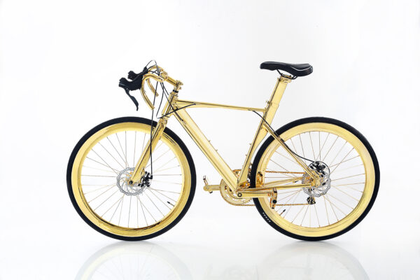 Gold Bike   Gold Bicycle