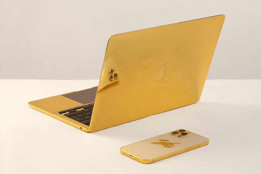 Customized Gold MacBook Pro